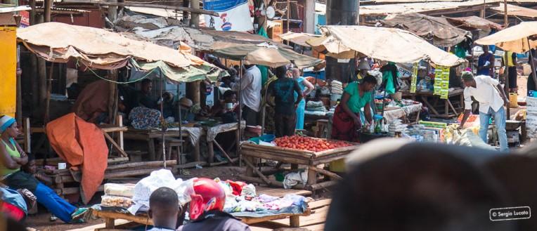 Market in Kampala