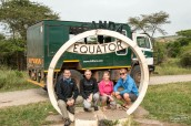 Crossing the Equator again