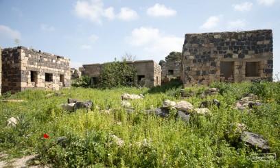 Ottoman village of Umm Qais