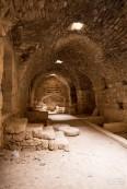 Kitchen of Al Karak castle
