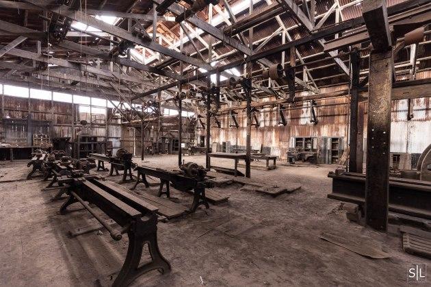 Machine shop at Oficina Humberstone