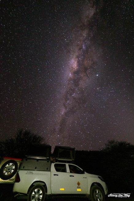 Night over Okonjima