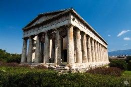 Hephaisteion at the Ancient Agora