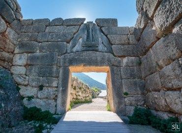 Lions gate at Mycenae (Mykínes)