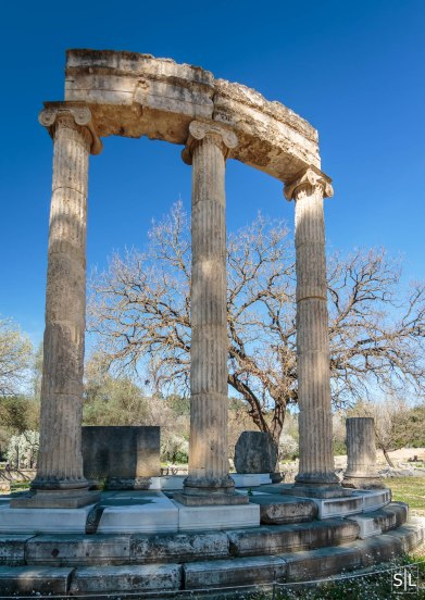 Ruins of the Philippeion, Olympia