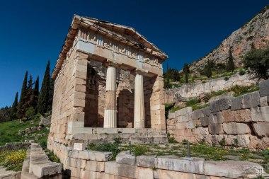 Treasury of Athenians, Delphi