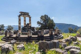 The tholos of Athena Pronaia, Delphi